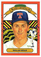 1990 Nolan Ryan Donruss Diamond Kings Error Card (#659) - Texas Rangers