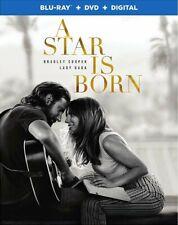 BLU-RAY A Star Is Born (Blu-Ray/DVD) NEW Lady Gaga, Bradley Cooper