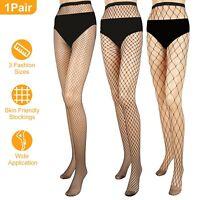 Women Fishnet Stockings Net Pattern Hosiery Pantyhose Black Tight Sock S/M/L Lot