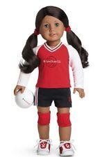 AMERICAN GIRL DOLL VOLLEY BALL SET+ CHARM.NIB.( doll not included)