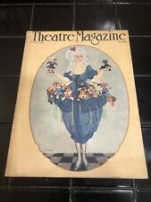 Rare Vintage THEATRE Magazine 1921 August Carl Link Cover Nice!