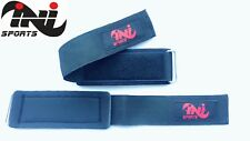 INI Wrist Brace Grip Support Gym Gloves Straps Weight Lifting Wrap Body Building