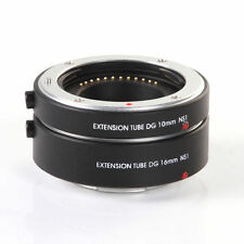 US Electronic Auto Focus 10mm+16mm Macro Extension Tube for Nikon 1 S2 S1 J5 J4
