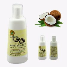 Thai Coconut Oil Herbal Shampoo Long Term Nourishing for Dry Damage Hair 1x