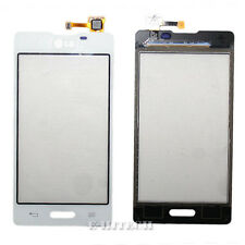 "LG E460 OPTIMUS L5 II Bianco Digitizer Touch Screen Lente Bicchiere PAD ""UK"" + strumenti"