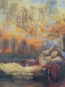 """""""Dreams of Camelot"""" Glitters & Glows Crystals & Candlelight 750 Pieces Puzz"""