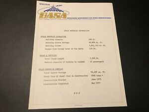 DISNEYLAND DASA Letterhead - Space Mountain Information Letter