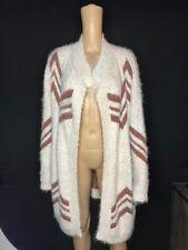 alya Women's sweater Open Front Cardigan Long Sleeve