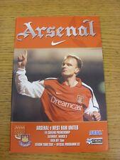 18/03/2001 Aston Villa V Arsenal (ottime condizioni)