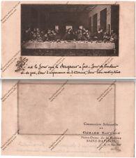 HOLY CARD SANTINO IMAGE PIEUSE - L'ultima cena - Comunione solenne - 1937