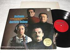 "Quartetto Italiano ""Beethoven:String Op. 18, No. 3&1"" 1972 LP, Nice NM!, Philips"