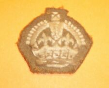 British Army Dress Warrant Officers  Patch Badge
