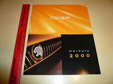 2000 Mercury Cougar Sales Brochure