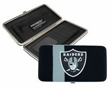 Oakland Raiders Ladies Mesh Hard Shell Wallet NFL