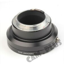 2nd AF Confirm Pentax 67 PK67 Lens to Canon EOS EF Mount Adapter Ring 7D 550D