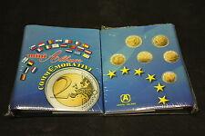 ALBUM PER 2 EURO COMMEMORATIVI CON PAGINE COMPRESE