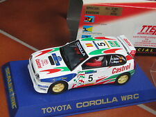 SCALEXTRIC TOYOTA COROLLA WRC CARLOS SAINZ LUIS MOYA 2119 LIMITED EDITION SLOT