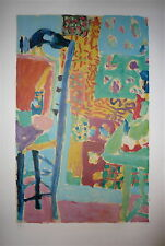 Jean Pougny Lithographie Signée Numérotée Art Abstrait Salon des Indépendants