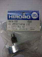 Original Hirobo 0414-330 Kupplungsglocke 12 Zähne E3 CLUTCH BELI WITH GEAR