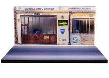 Diorama présentoir Dacia Service Auto Ghinea - 1/43ème - #43-2-C-B-012