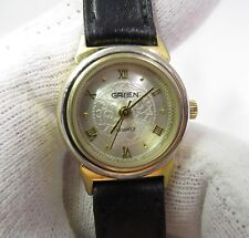"5"", Nice, Ladies Watch, 457 L@K Gruen, 293-902, Quartz, Calf Band, Small Wrist"