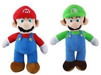 """14"""" Super Mario Bros Mario Luigi Plush Toy Kids Stuffed Toys Doll AA*"""