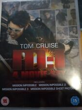 Mission Impossible 4 Movie Set Tom Cruise: M:I,1,2,3 & Ghost Protocol