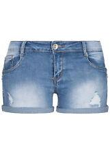 34% OFF B18042165 Damen 77 Lifestyle Shorts Jeans Shorts 5-Pockets Zipper blau