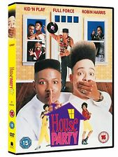 HOUSE PARTY Region 2 UK DVD Christopher Reid, Robin Harris, Martin Lawrence