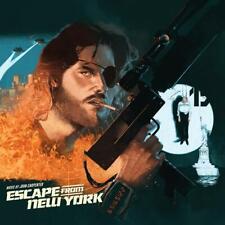Escape from New York John Carpenter Movie Score Waxwork Color Vinyl Record 2LP