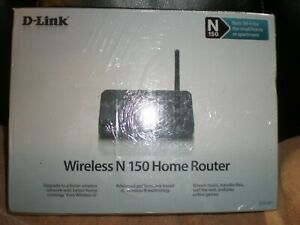 D-LINK WIRELESS N 150 HOME ROUTER 150 Mbps 4 PORT 10/100 WIRELESS N ROUTER NEW