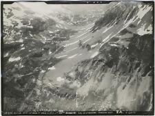 Lot 24 Photos Argentiques Montagne et Vues Aériennes Vers 1930