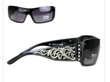 NWT Westren  Montana West Scroll Collection Sunglasses Black