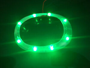 2004 2005 2006 Scion xB LED Lower Shifter Bezel Clear with Green LEDs