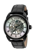 Invicta Men's Specialty 32635 42mm Black Dial Leather Watch