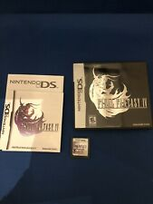 Final Fantasy Iv (Nintendo Ds, 2008) - Cib - Tested