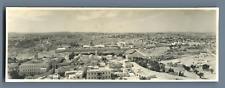Palestine, Jerusalem, Panoramic View  Vintage silver print.  Tirage argentique