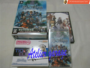 W/Tracking Number. USED Limited BOX The Legend of Heroes Ao no Kiseki Japanese