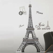 RoomMates Eiffel Tower Wall Stickers Adult Paris Bedroom Wall Decals France