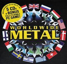 "Var. ""Worldwide Metal"" 5 CD Box + Earache Racing Game!"