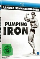 Pumping Iron [Blu-ray/NEU/OVP] Arnold Schwarzenegger/Body Building/In HD/Schuber