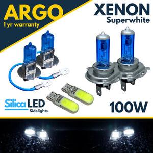 For Nissan X-Trail T30 Headlight 100w Hid Xenon White Led Fog Side Light Bulbs