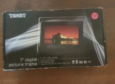 "TEXET 7"" DIGITAL PICTURE FRAME LCD SCREEN"