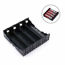 High Quality 4 Cell 18650 Battery Holder Case Box Leads Pins PCB Board Mount
