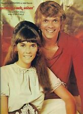 "THE CARPENTERS ""HURTING EACH OTHER"" SHEET MUSIC-PIANO/VOCAL/GUITAR-1965 RARE-NEW"