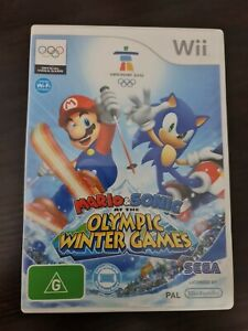 Mario & Sonic at the Olympic Winter Game -  Nintendo Wii