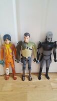3x Star Wars Rebels 19 Inch Action Figures