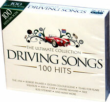 Ultimate Driving Songs Collection 5 CD 100 Original Music Recordings 70s 80s 90s