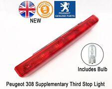 Peugeot 308 Rear Supplementary Third Stop Light Bulbs 6350CR 9680426580 Genuine