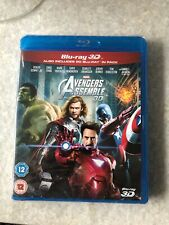 Avengers Assemble 3D Blu Ray